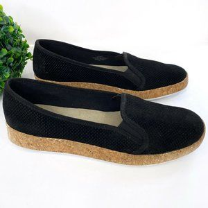 NEW Isaac Mizrahi Perforated Suede Slip On